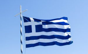 Dream greece hope flag